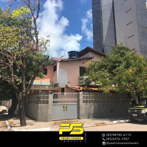 Casa Com 3 Dormitórios À Venda, 150 M² Por R$ 450.000 - Camboinha - Cabedelo/pb - Ca0827
