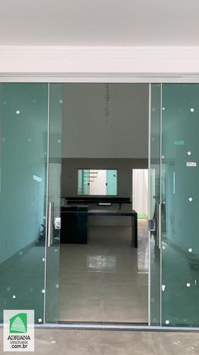 Imagem 1 de 15 de Venda Casa 3 Quartos Sendo 1 Suite 2 Vagas Área De Lazer - 6013