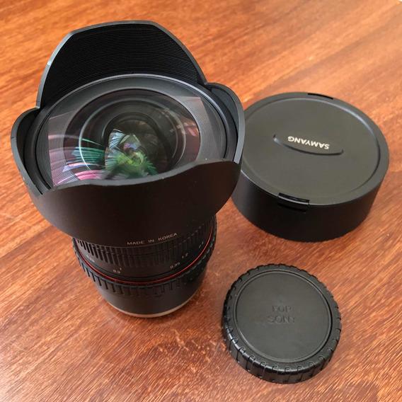 Lente Samyang (rokinon) 14mm 2.8 P/ Sony Full Frame E-mount