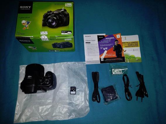 Câmera Sony Cybershot Dsc-hx300 20.4mp Lentes Carl Zeiss