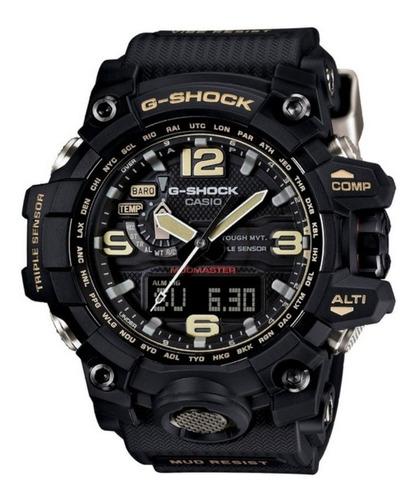 Relógio Casio G-shock Mudmaster Gwg-1000-1adr Tough Solar
