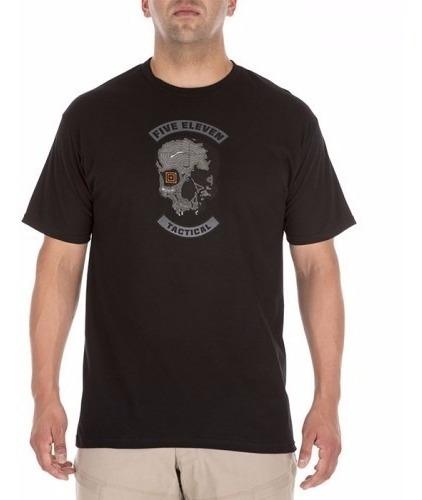 Remera Hombre 5.11 Tactical Topo Skull Importadas