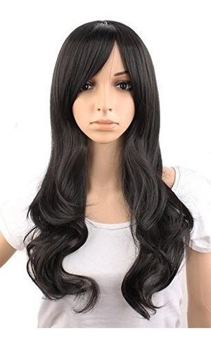 Mapofbeauty 50cm / 20  Peluca De Moda Hermosa Rizada Natural