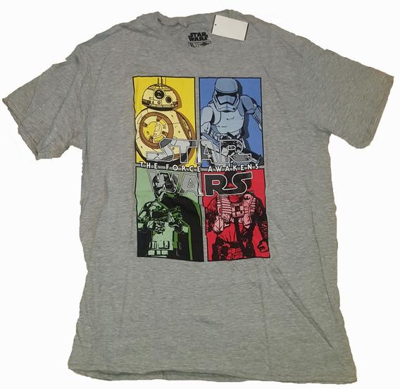 Remera Star Wars The Force Awakens Original Xl Import Nueva!