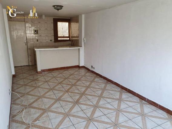 Kitnet Com 1 Dormitório À Venda, 30 M² Por R$ 110.000,00 - Aviação - Praia Grande/sp - Kn0321