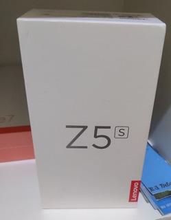 Lenovo Z5s Snapdragon 710 6gb Ram E 64 De Memória. Cor Gray