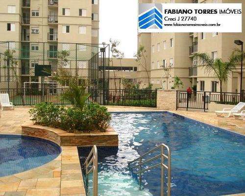 Apartamento Para Venda Em São Bernardo Do Campo, Planalto, 2 Dormitórios, 1 Banheiro, 1 Vaga - 1726_2-788809