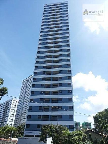 Apartamento Com 3 Dormitórios Para Alugar, 64 M² Por R$ 1.320,00/mês - Torreão - Recife/pe - Ap0084