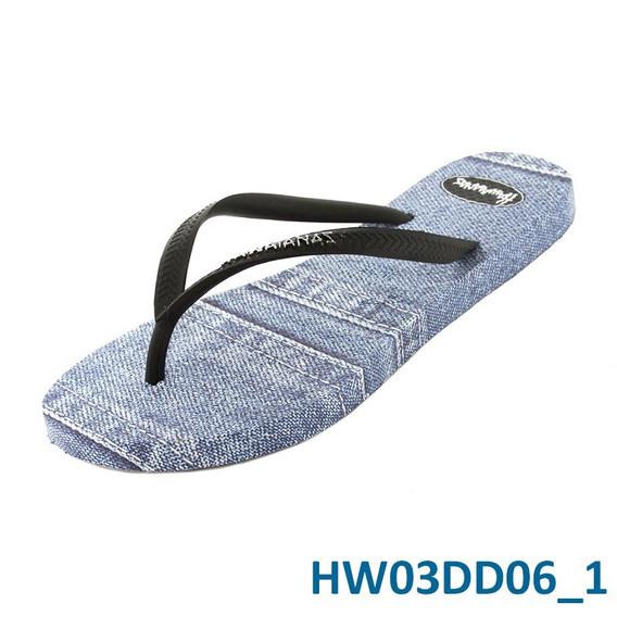 Ojotas Hawaianas De Dama Jeans