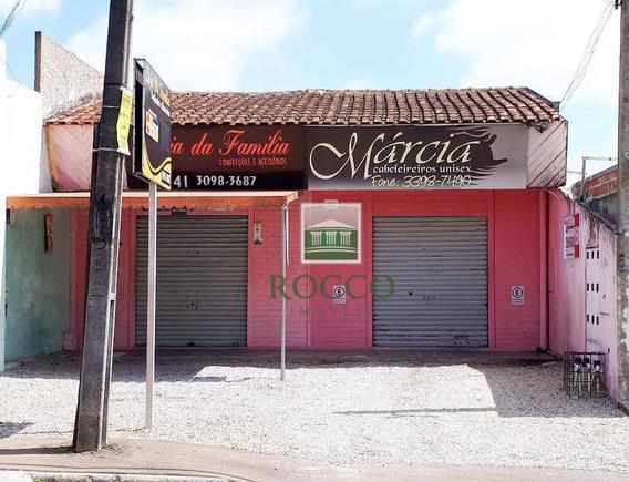 Loja Comercial À Venda, Costeira, São José Dos Pinhais. - Lo0052