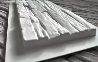 Molde Para Pared Fachaleta Piedra Cultivada Yeso O Cemento