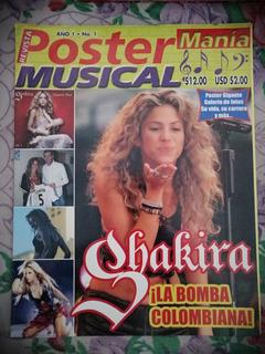 Shakira Revista Poster Musical 2005