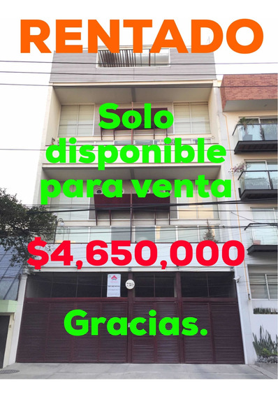 Departamento Duplex Town House 2 Pisos Col Del Valle 100 M2