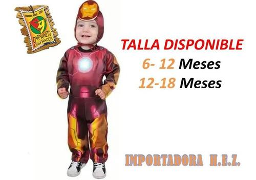 Disfraz De Iron Man Bebe Disfraces Carnaval