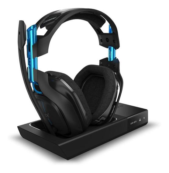 Audífonos gamer inalámbricos Astro A50 black y grey