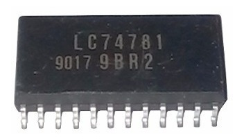 Lc74781 Lc74781-9013-e, Controlador Display