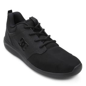 Tênis Midway Preto Dc Shoes