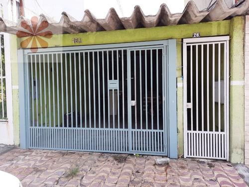 Imagem 1 de 15 de Casa Térrea Em Vila Rio Branco  -  São Paulo - 5585