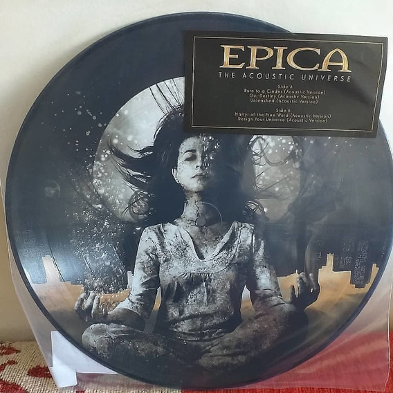 Epica: The Acoustic Universe Picture Disc. (nightwish)