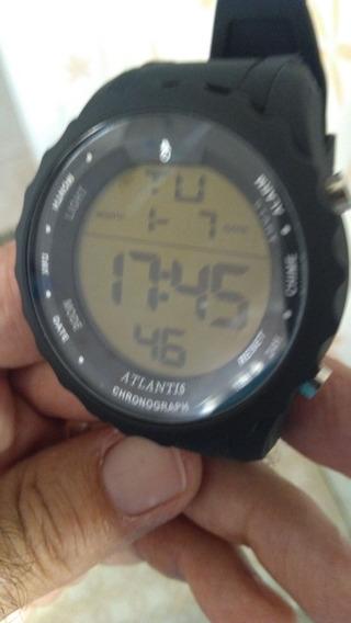Relógio Digital Atlantis