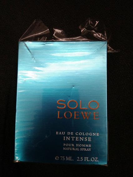 Perfume Loewe Solo Eau De Cologne Intense 75ml