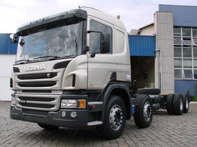 Scania P310 Bitruck (entrada+parcelas) 8x2 0km Completa