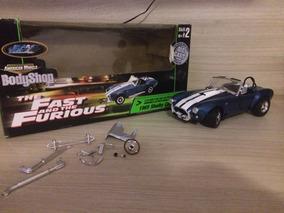 Miniatura Shelby Cobra Velozes E Furiosos 1:18