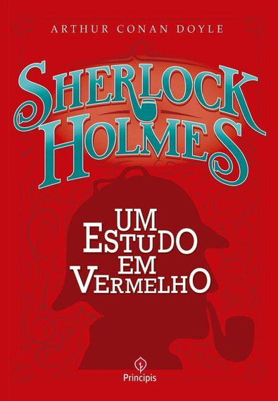 Sherlock Holmes Um Estudo Em Vermelho - Livro - Conan Doyle