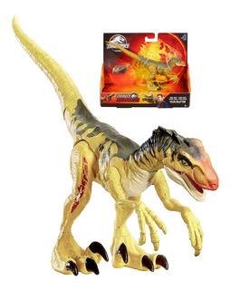 Dinosaurio Velociraptor Jurassic World Dino Rivales Con