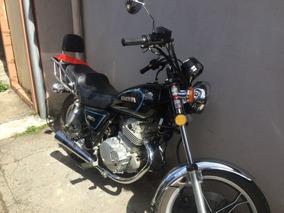 Suzuki 250cc Pandillera Negra