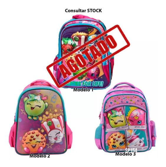 Mochila Escolar Shopkins Mmk Pr Vet