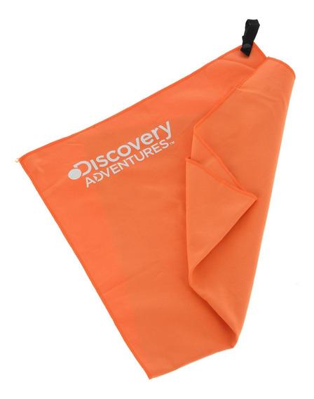 Toalla Seca Microfibra Naranja (80 X 40 Cms)