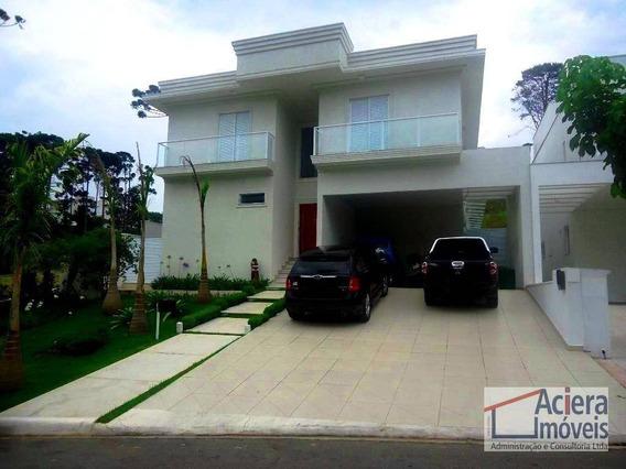 Granja Viana Cond. Vintage - Excelente Casa Mobiliada Com 4 Suites E Lazer - Ca0783