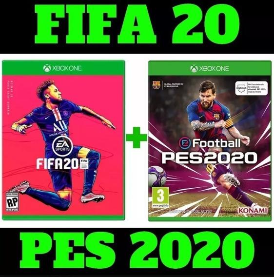 Fifa 20 + Pes 2020 Xbox Midia Digital