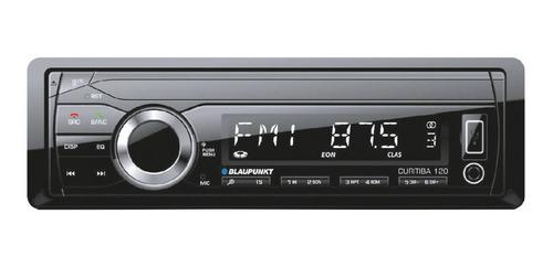 Estéreo para auto Blaupunkt Curitiba 120 con USB y bluetooth