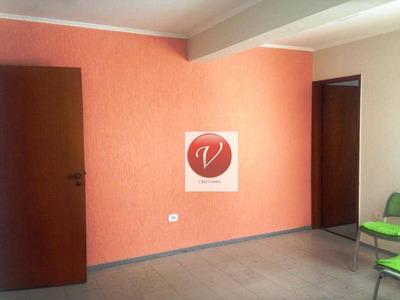 Sala Para Alugar, 60 M² Por R$ 1.500/mês - Vila Guiomar - Santo André/sp - Sa0600