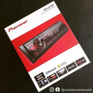 Reproductor Pioneer 1 Din Dim Mvh-s215bt Bluetooth Usb Aux