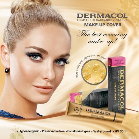 Base De Maquillaje Hipoalergenico Dermacol A Prueba De Agua