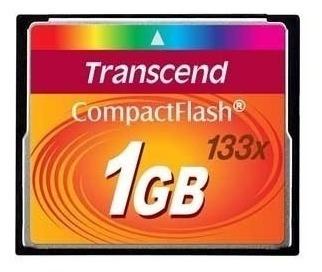Cartão Memória Compact Flash 1gb Transcend