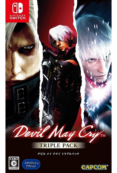 Devil May Cry Triple Pack (asiático) - Switch