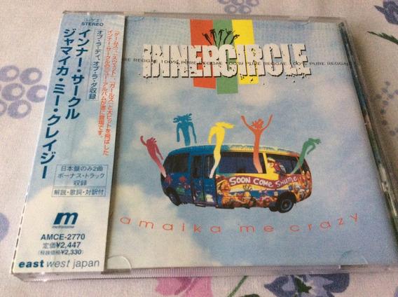 Cd Inner Circle Jamaika Me Crazy Edición Japón Bonus Tracks