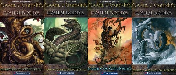 Rowan O Guardião Do Volume 2 Ao 5 Emily Rodda 12 A 17 Anos