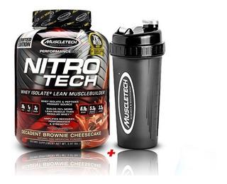 Proteina Nitro Tech 4 Lbs + Shaker + Regalo + Envío