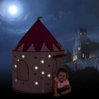 Tienda De Castillo De Princesas Brilla En La Oscuridad