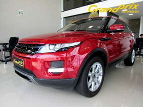 Evoque Pure Tech 2013 2.0 Awd Vermelha Completa Top De Linh