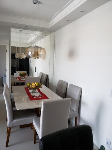 Imagem 1 de 14 de Apartamento 56m 2 Dorms 1 S 1 Vg Campestre Santo André