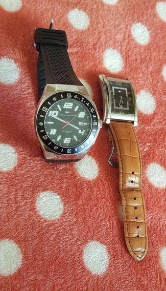 2 Relógios De Pulso Tommy Hilfiger Usados - Funcionando