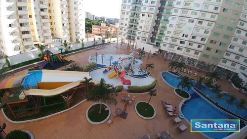 Apartamento Com 1 Dormitório À Venda, 34 M² Por R$ 119.000,00 - Turista I - Caldas Novas/go - Ap0157