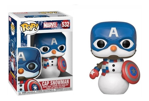 Funko Pop Marvel Cap Snowman (532)