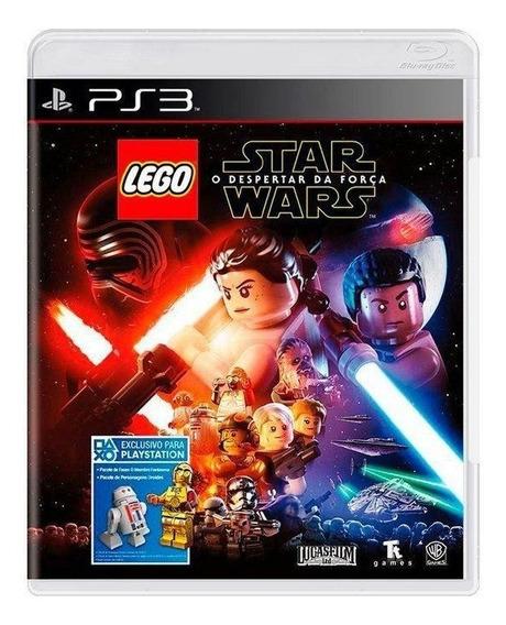 Lego Star Wars O Despertar Da Força Ps3 Mídia Física